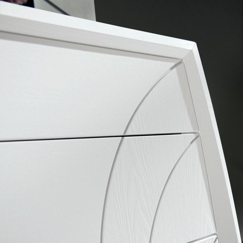 Luna LUNA5156, 2-drawer bedside table with engravings