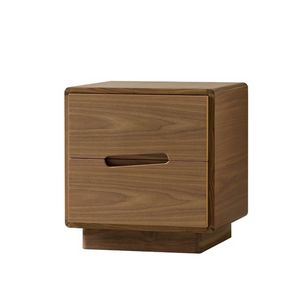 Malib� 1367/F, Wooden bedside table with carved handles