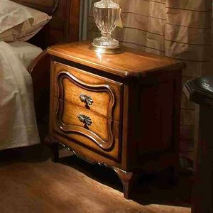 Marsiglia VS.2051, Louis XV bedside table with two drawers