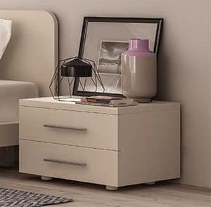 MATRIX night table, Bedside table made of melamine