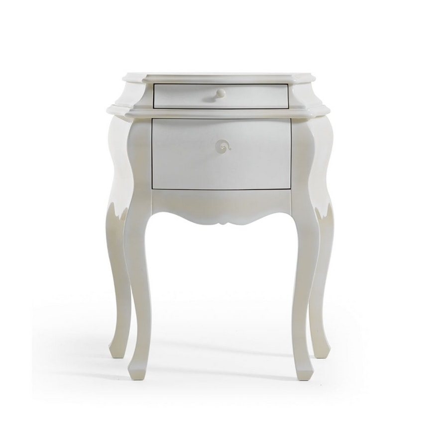 Maya Art. 478, Neoclassical bedside table in wood