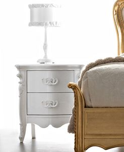Melissa Art. 489, Extremely refined bedside table