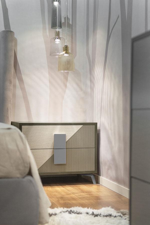 Morfeo Art. M0012, Modern bedside table