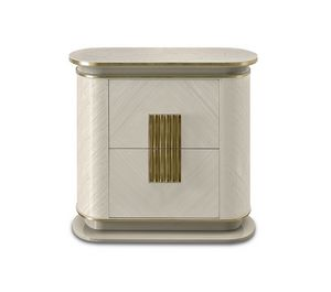 Oliver Art. OL87, Bedside table with a delicate, sophisticated design