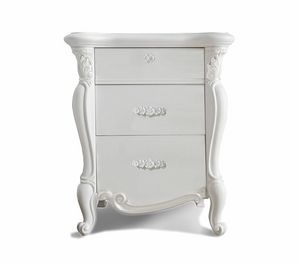 Puccini Art. 7506, Elegant bedside table in classic style