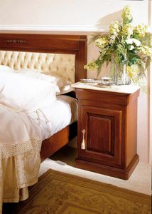 Romantica nightstand, Traditional design bedside table