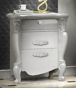 Smeraldo Art. 5306, Elegant lacquered bedside table
