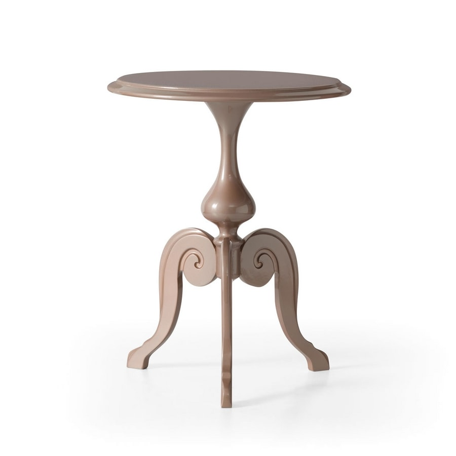 Sofia Art. 456, Bedside table turned and sanded by hand