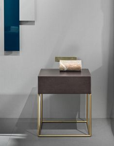 Stardust nightstand, Bedside table with minimal design