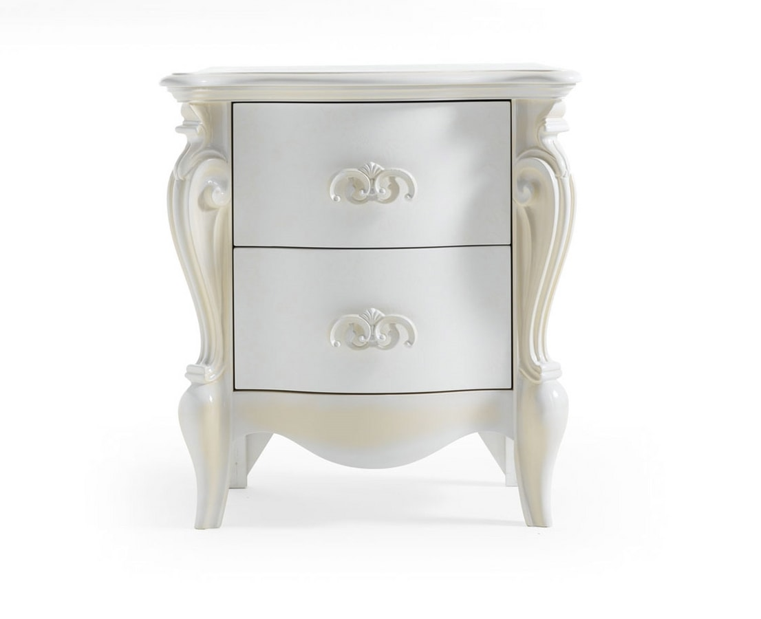 Versailles Art. 481, Bedside tables with a classic design