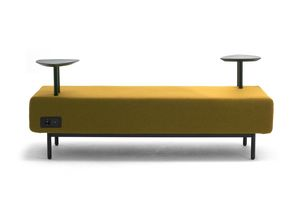 Around USB bench, Modular bench with electrification with USB sockets