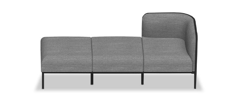 Grand Place, Modular and customizable seats