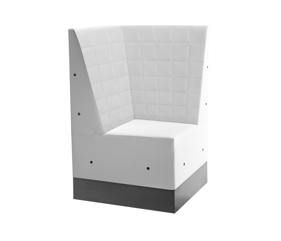 Linear 02485Q, Angular bench with high backrest
