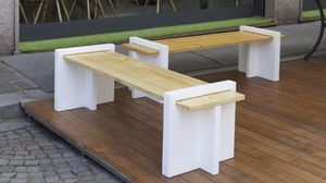 Play Wood, Sectional garden bench