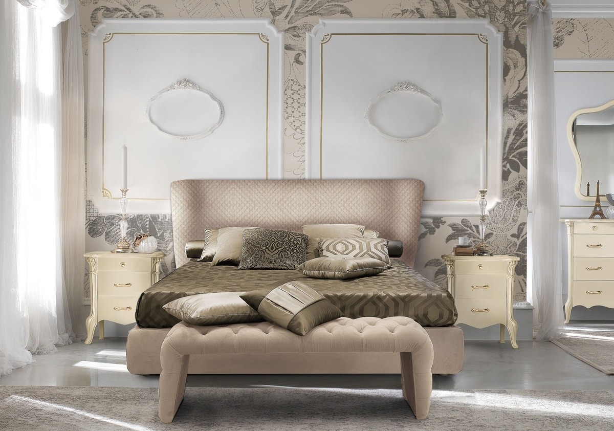 City Art. 5654, Tufted bench for bedroom