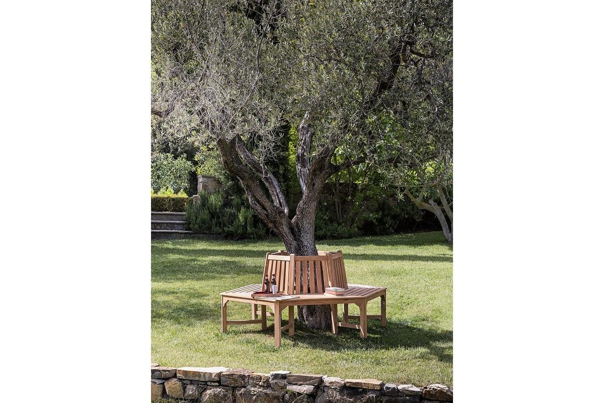 Classica 0204, Hexagonal bench for garden