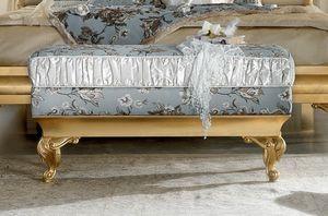 Diamante Art. 2421, Bedside bench, carved
