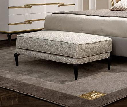 Dilan Art. D35/P - D35/PT, Padded bench for bedroom