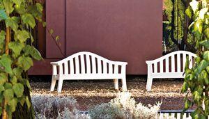 Giulietta, Garden bench in plastic