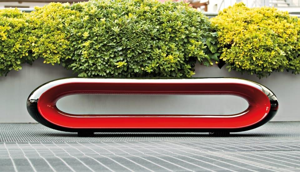 Panchine Da Esterno Design.Outdoor Bench With A Fashion Design Idfdesign