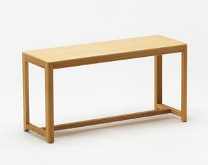 Seleri bench, Wooden bench with a minimal design