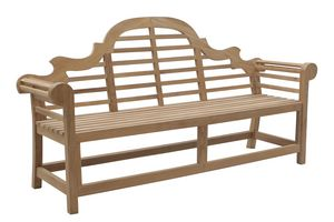 Vittoria 0207, Elegant wooden bench for gardens