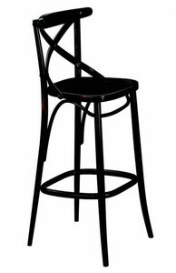 440 Croce, Stool in bentwood