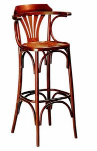 444 Milano 600, Stool with armrests for pubs