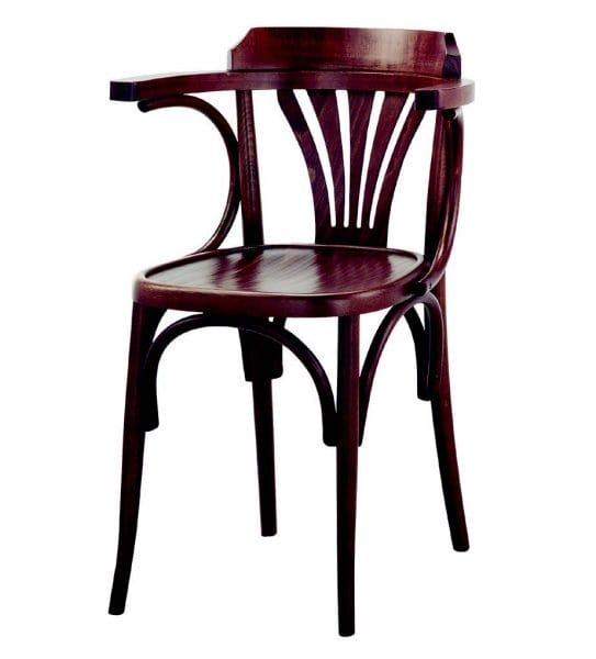 99 Milano/P, Bentwood chair with armrests