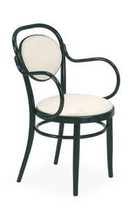 V14P, Bentwood chair, padded