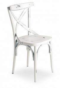 V15, Chair with cross backrest