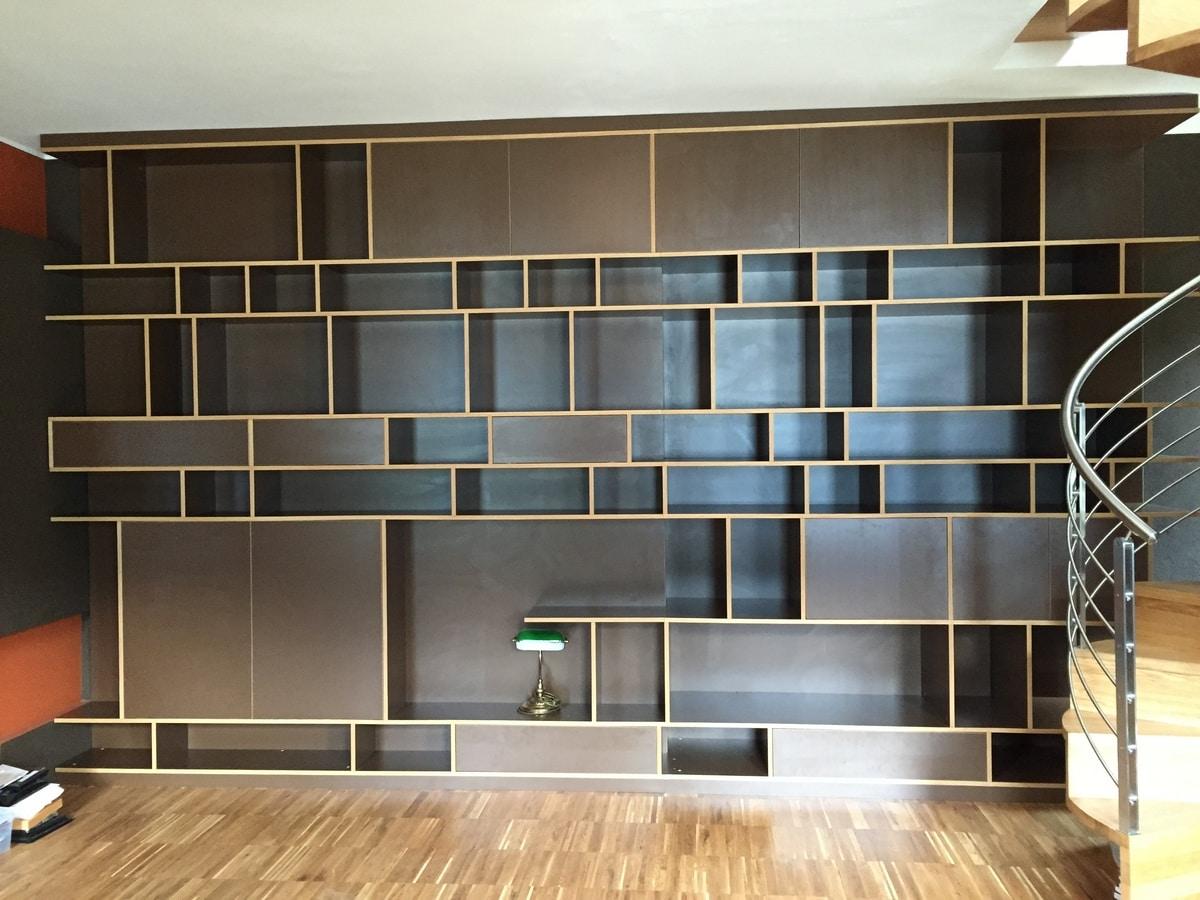 Art. A03, Wooden bookcase