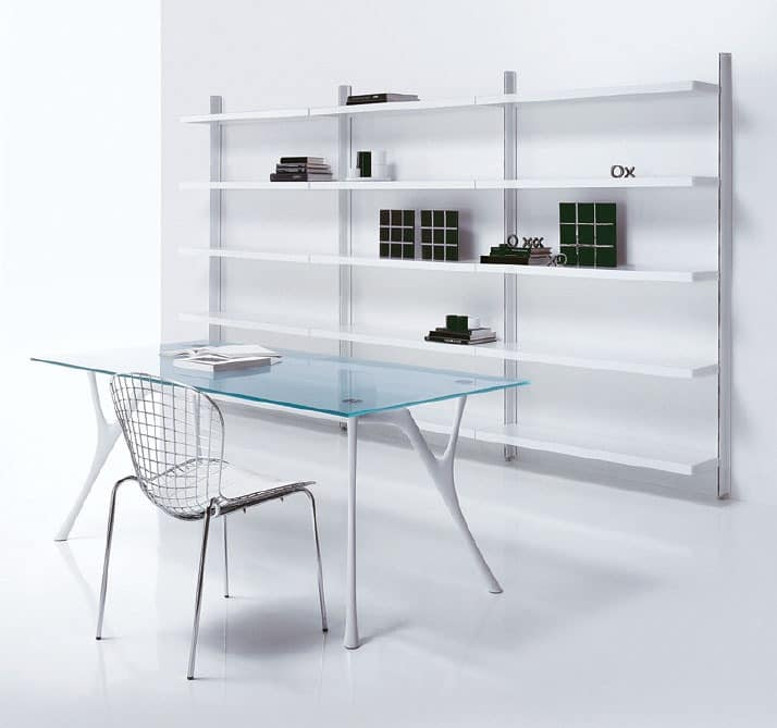 Big floor, Cabinet with shelves, for stays in modern style
