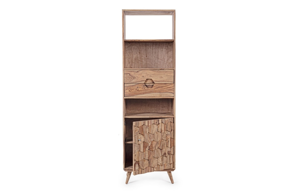 Bookcase 1A-2C Kant, Bookcase with drawers