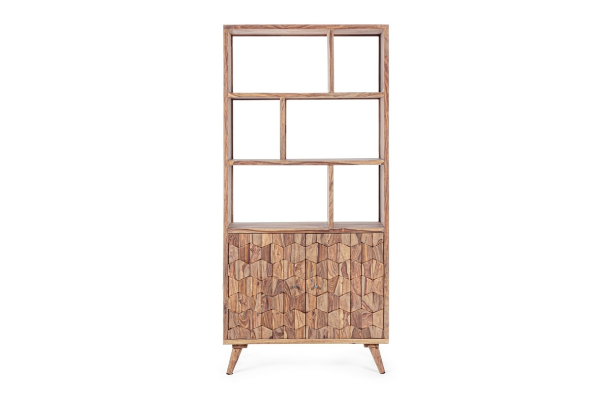 Bookcase 2A Kant, Bookcase with honeycomb doors