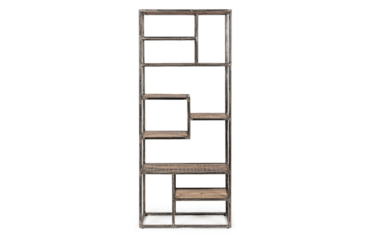 Bookcase Elmer, Bookcase with an essential design
