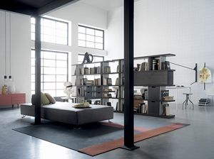 CAROL, Modular and customizable bookcase
