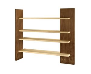 Cartesia 3401, Freestanding bookcase in wood