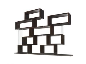 Chaos, Modular bookcase, with a geometric design