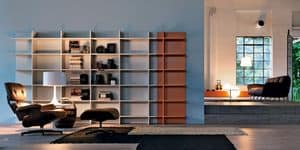Citylife 23, Modular bookcase ideal for modern environments