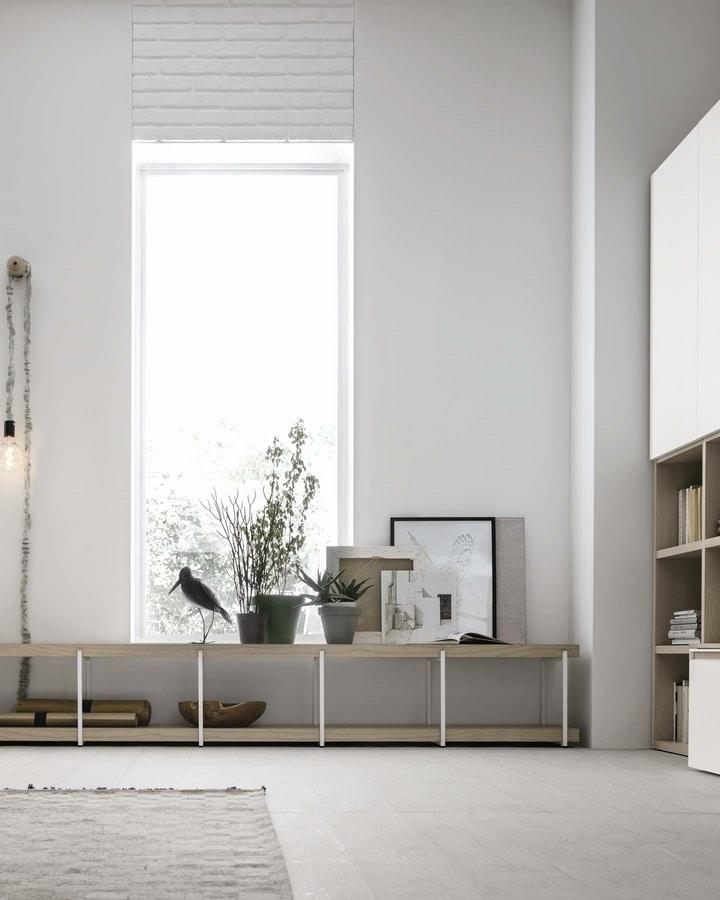 Comp. A115, Modular bookcase with a modern design
