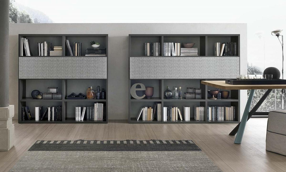 Comp. A120, Modular bookcase