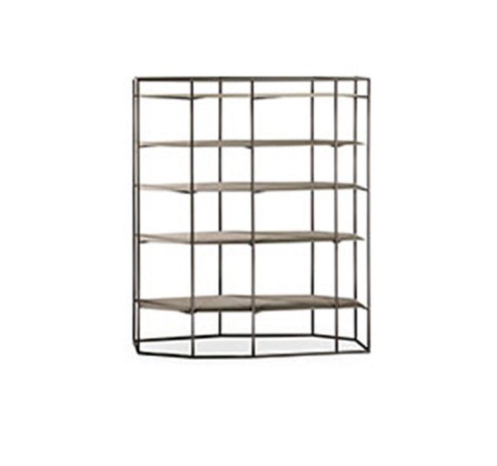 Diadema, Freestanding iron bookcase