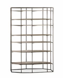 Diadema, Freestanding iron bookcase