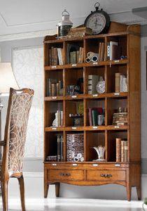 Direttorio libreria, Classic bookcase, with drawers