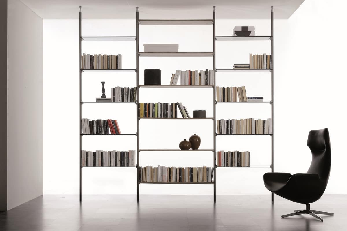 Two sided modular bookcase idfdesign