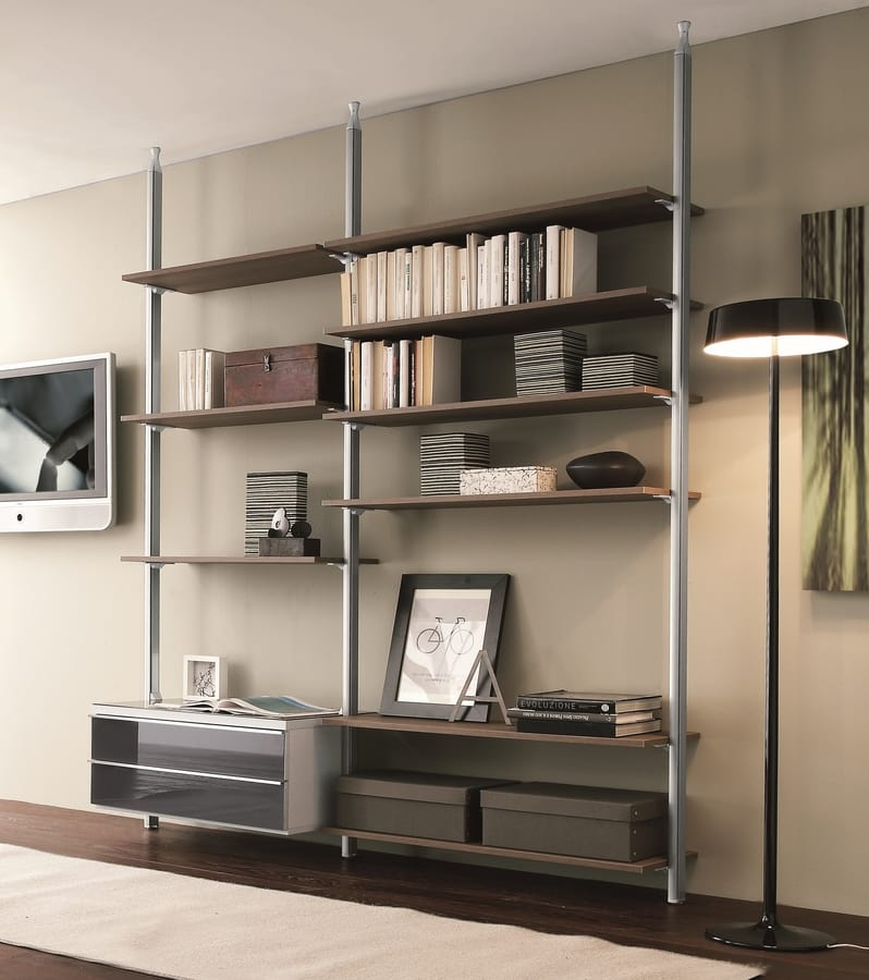 dl300 clark, Two-sided modular bookcase
