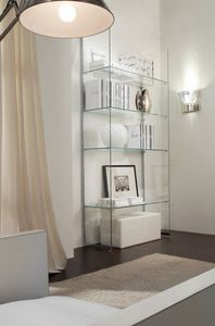 Glassystem COM/GS4, Glass bookcase