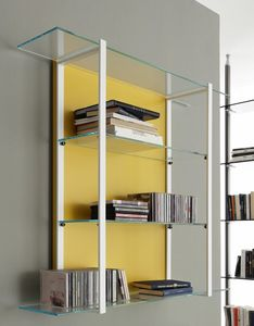 k125 icon, Modular wall bookcase