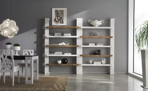 Library Light, Modular bookcase in ethnic style